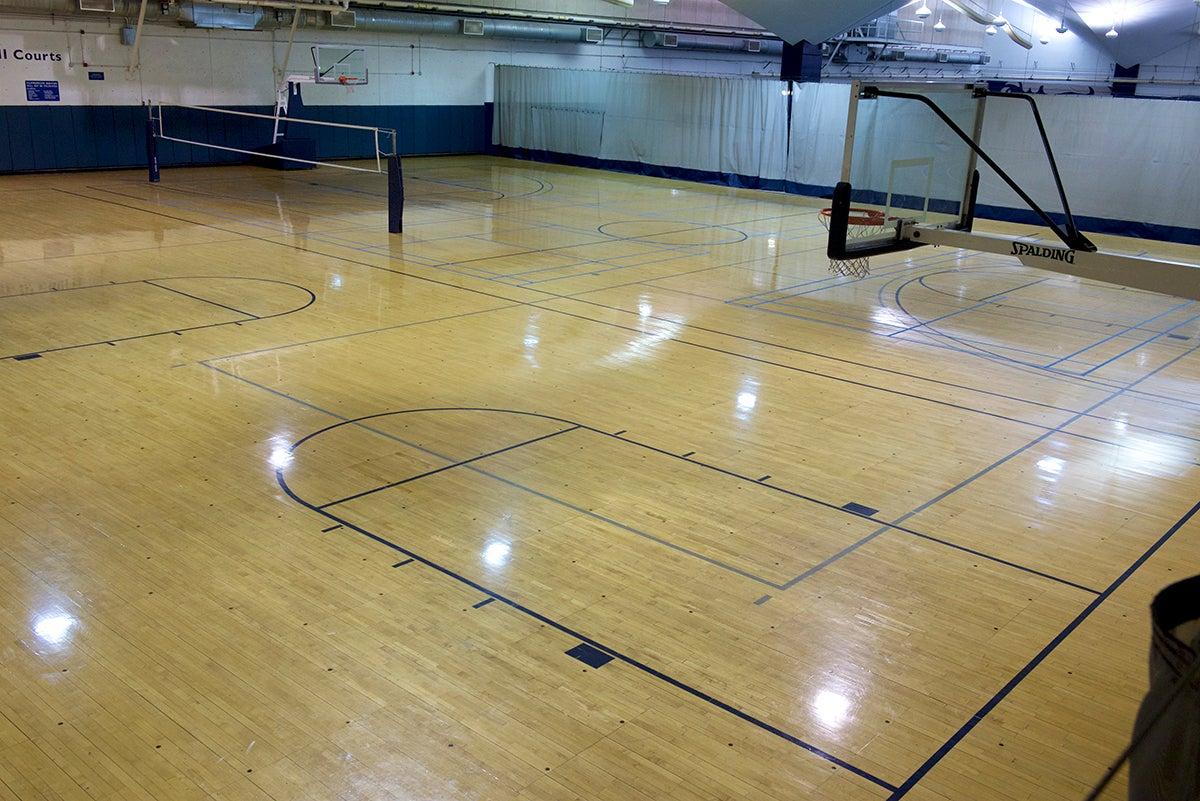 James J. Gilroy Basketball Courts