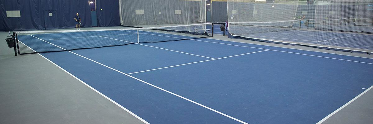 Header picture of a Yates tennis court