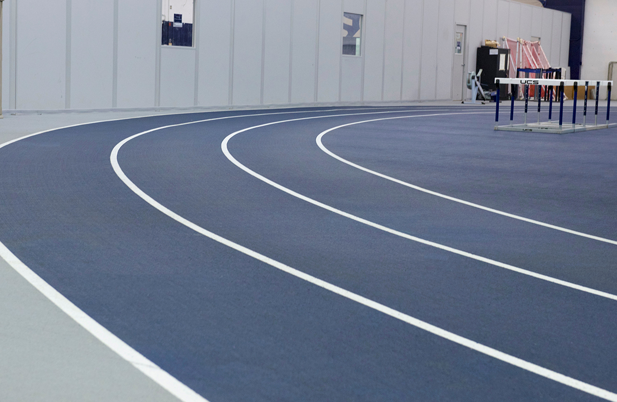 The indoor track